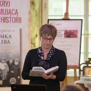 """Fot. Krzysztof Lis. Salon Literacki Biblioteki Kraków """"Pod Gruszką. Spotkanie z Dagmara Dworak"""