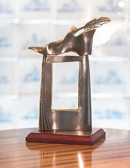 Statuetka nagroda Żółta Ciżemka