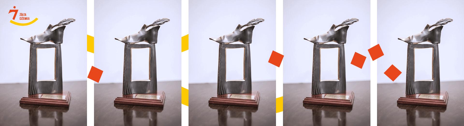 Nagroda Żółtej Ciżemki statuetka