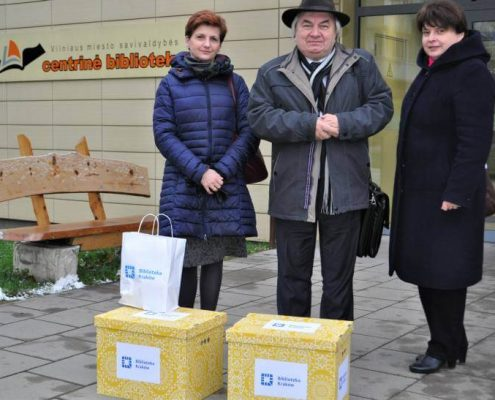 Delegacja Biblioteki Kraków z wizytą w Wilnie