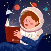 Magia czytania zdjęcie ilustracyjne
