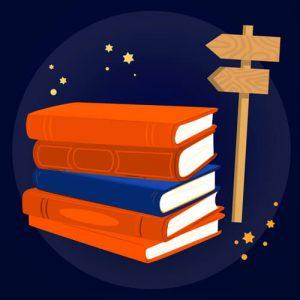 Kilka książek i drogowskaz