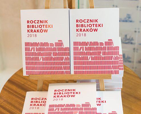 Zdjęcie Rocznika Biblioteki Kraków