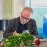 Krzysztof Lisowski w Salonie Literackim