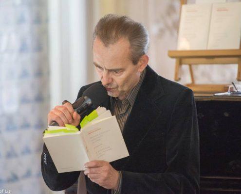 Jakub Kosiniak w Salonie Literackim