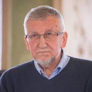 Stanisław Stabro w salonie Literackim