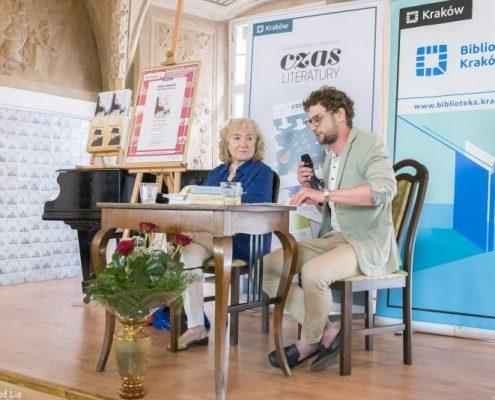 Aleksandra Ziółkowska-Boehm w Salonie Literackim