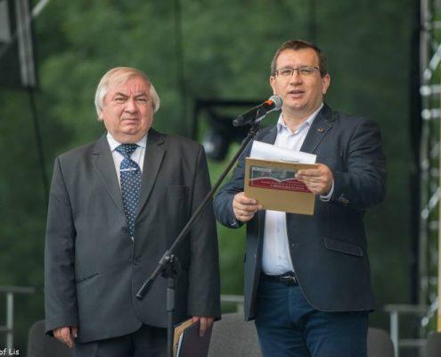 Stanisław Dziedzic – dyrektor Biblioteki Kraków Zbigniew Grzyb – dyrektor Nowohuckiego Centrum Kultury
