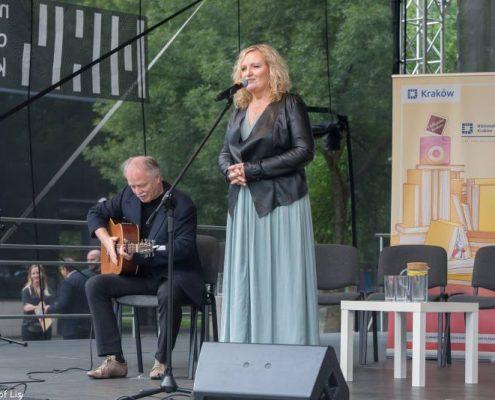 Na scenie: Lidia Jazgar