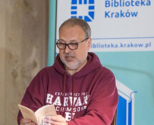 Andrzej Kotański w Salonie Literackim