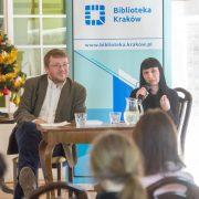 Monika Mostowik w Salonie Literackim