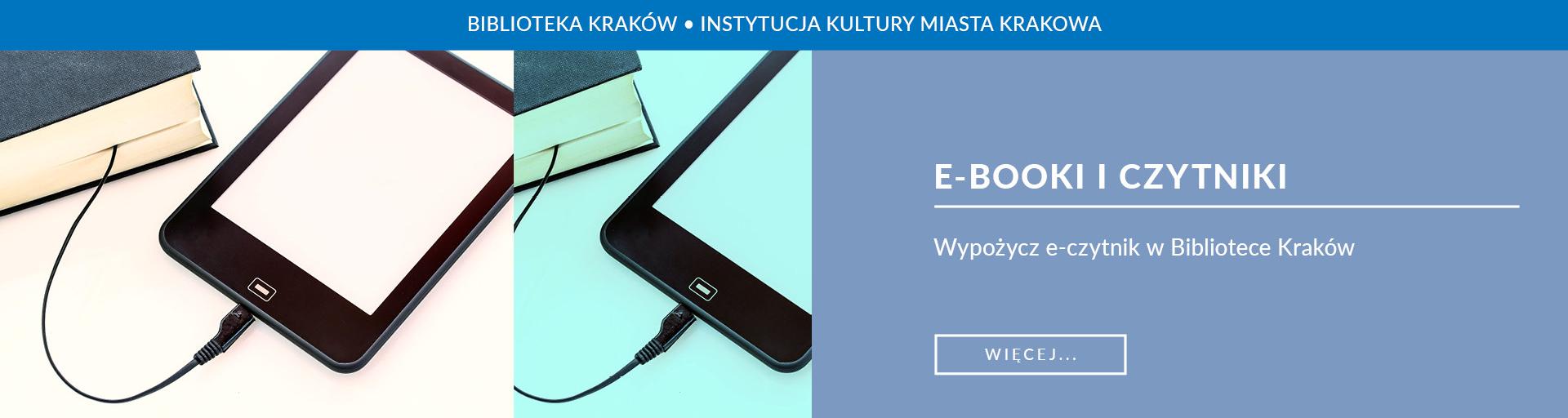 O ebookach w Bibliotece Kraków